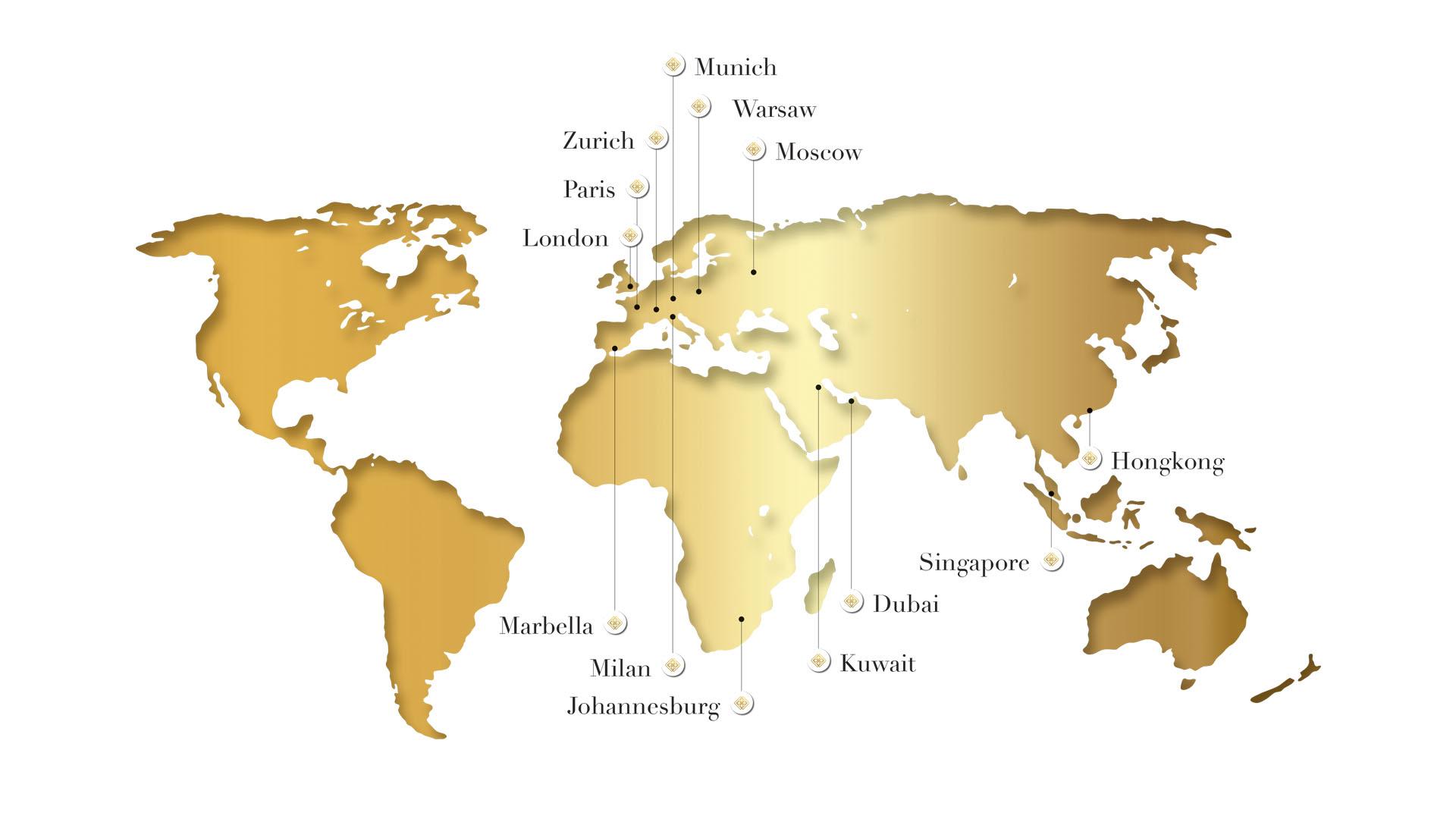 Centra dystrybucji luksusowych kosmetyków na Świecie